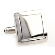 Classic Square Metal Cufflinks