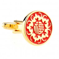 "China Style ""福"" Luckly Cufflinks"