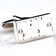 Rectangle Ruler Cufflinks
