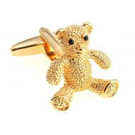 Gold Bear Cufflinks
